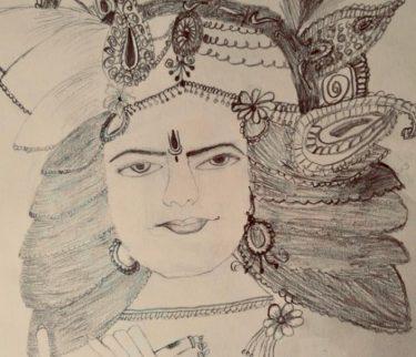Krishna by Tejas